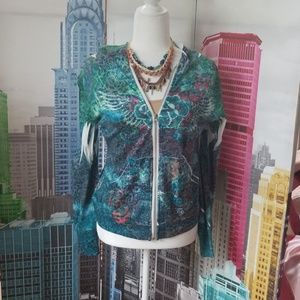 India Boutique Printed Hoodie